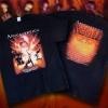 "Apocalyptica ""Apocalyptic Symphony"" tour-shirt design 2014"