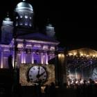 New year celebration Helsinki Senat Square